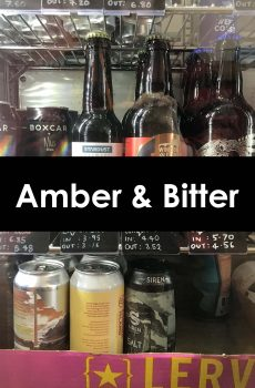 Amber and Bitter