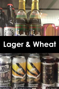 Lager and Wheat