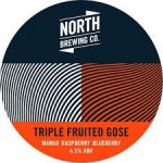 Tap 3: North. Triple Fruited Gose. Mango + Raspberry + Blueberry