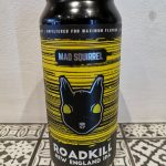Mad Squirrel. Roadkill can